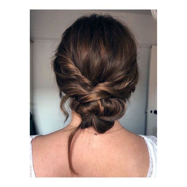 Easy Twisted Chignon Bun