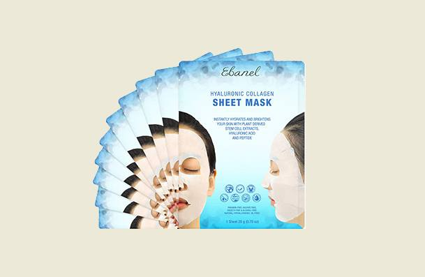 Ebanel Korean Collagen Sheet Face Mask For Women