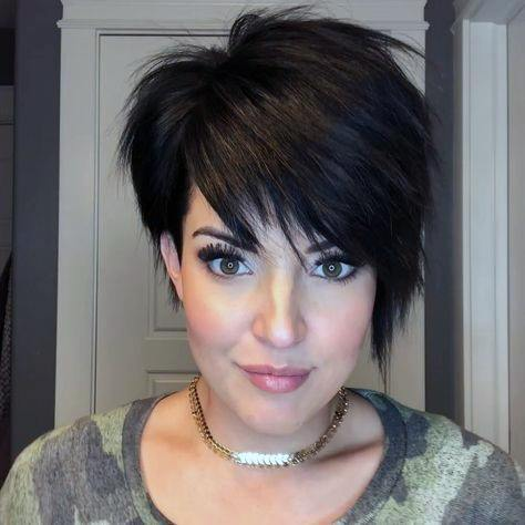 Edgy Short Bob With Wedge Back And Short Undercut Airy Hairstyles For Women