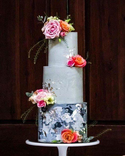 Elaborate Buttercream Wedding Cake