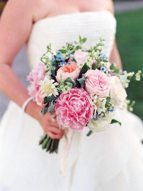 Elegant May Wedding Flowers