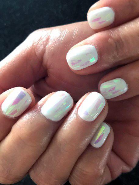 Encapsulating Glass Nails Women