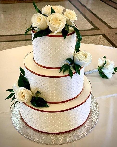 Enchanting Buttercream Wedding Cake