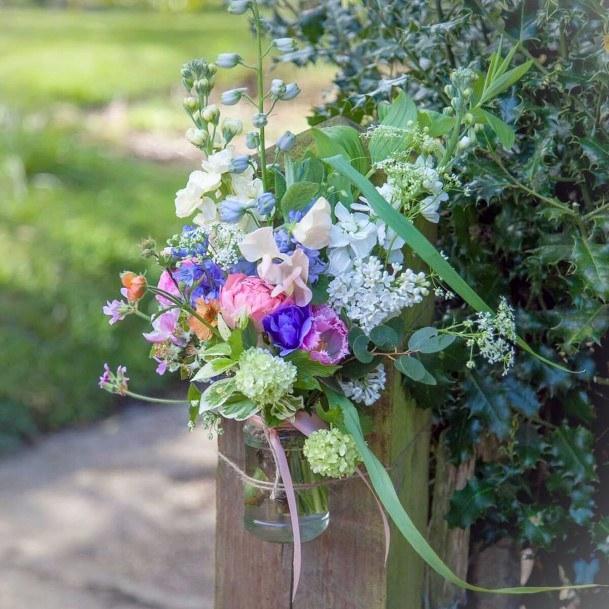 Enchanting May Wedding Flowers