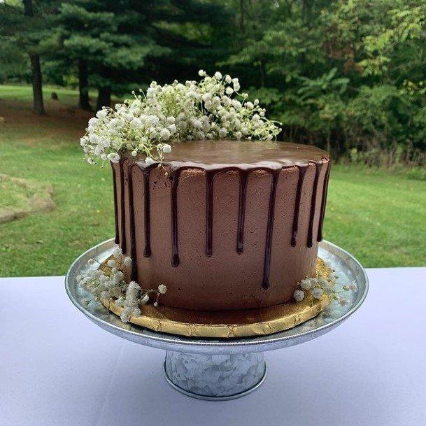 Enjoyable Wedding Chocolate Cake