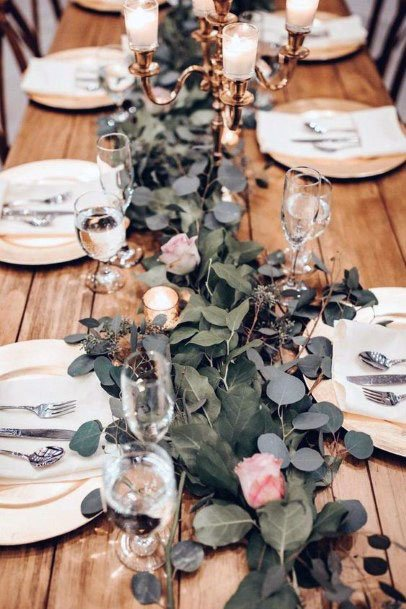 Eucalyptus And November Wedding Flowers