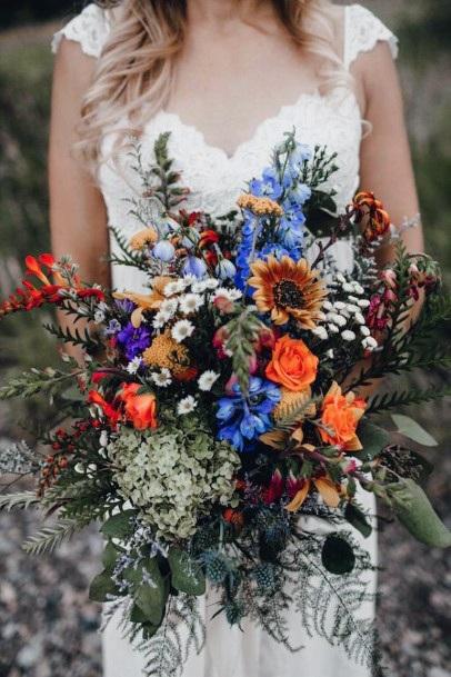 Exotic Boho Wedding Flowers