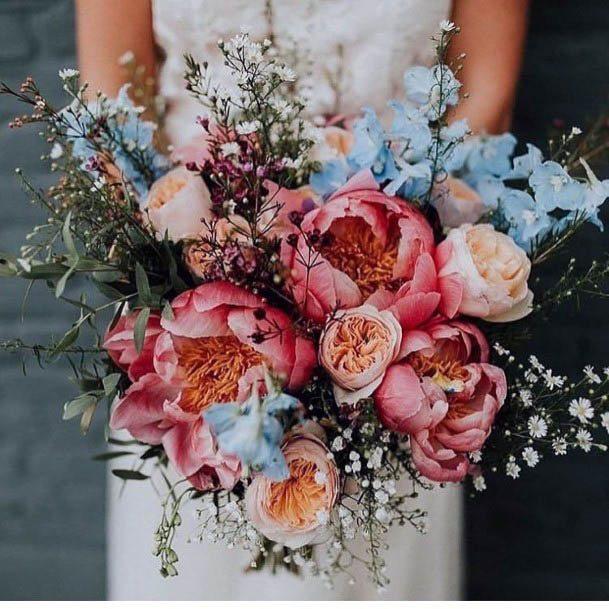Exotic Rustic Wedding Flowers