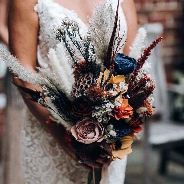 Exquisite Boho Wedding Flowers