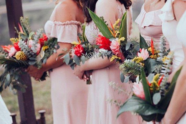 Exquisite Hawaiian Wedding Flowers Bouquet