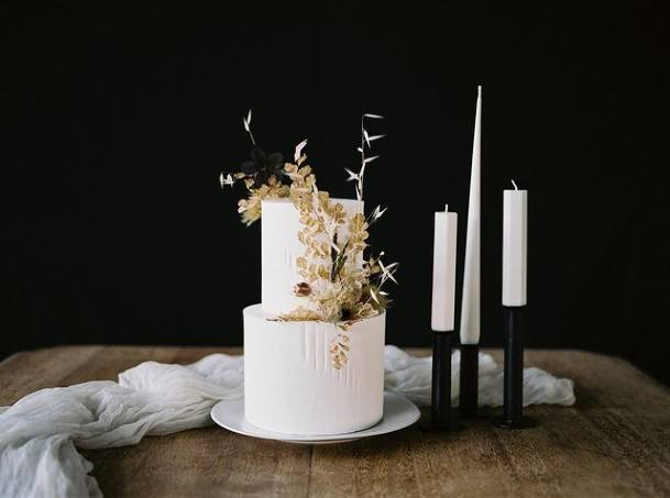 Fab 2 Tier Wedding Cake