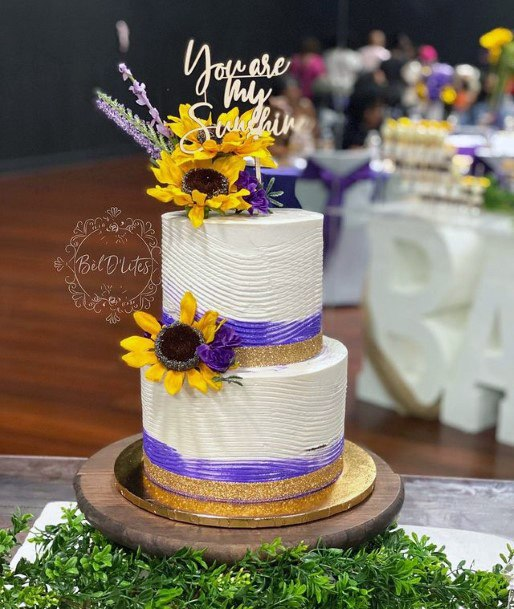 Fab Sunflower Wedding Cakes Women