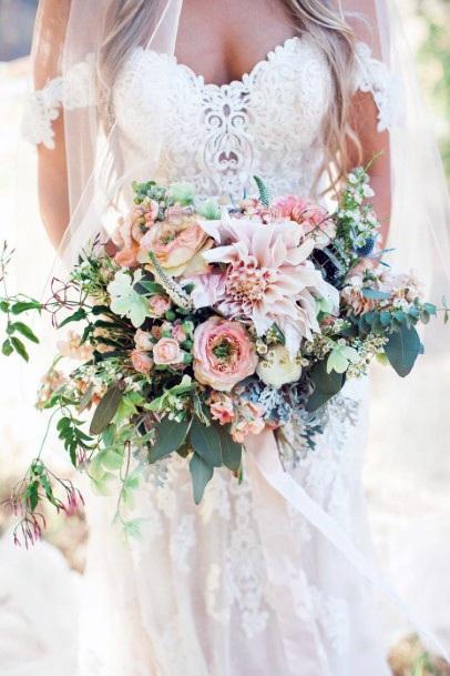 Fabulous Blush Wedding Flowers