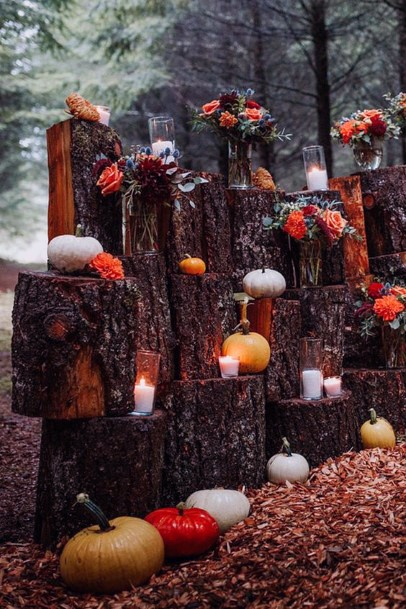 Fall Wedding Ideas October Pumpkin Inspired Decor