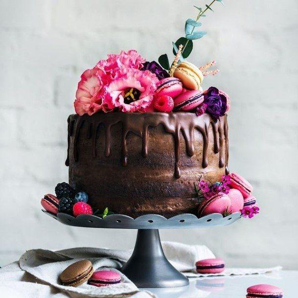 Fantastic Chocolate Wedding Cake