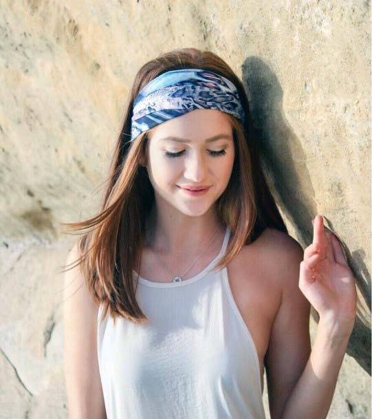 Female Straight Long Hair With Full Headband