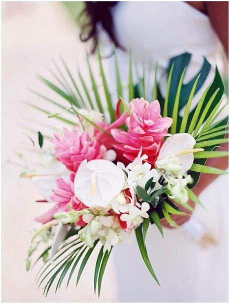 Finest Beach Wedding Flowers