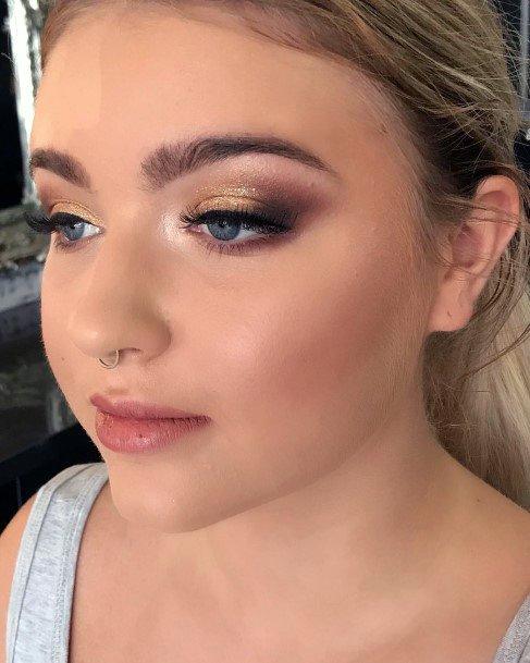 Flaming Gold Womens Eyeshadow