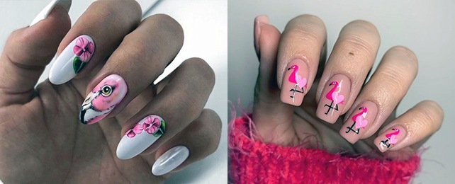 Top 50 Best Flamingo Nails For Women – Hot Pink Manicure Designs
