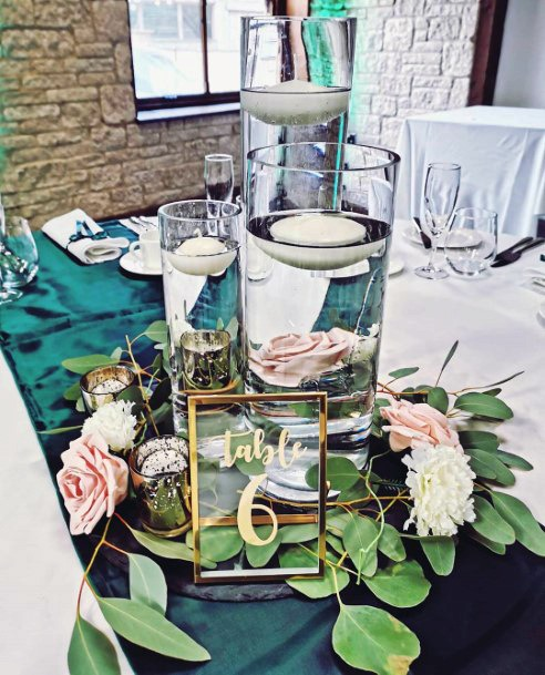 Floating Candle Wedding Centerpiece Ideas