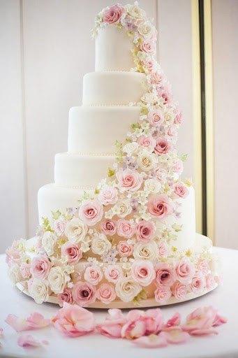 Flower Wedding Cake Ideas