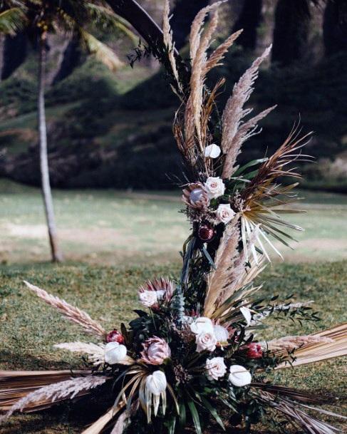 Forest Hawaiian Wedding Flowers