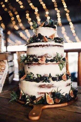 Four Layered Country Wedding Cakes