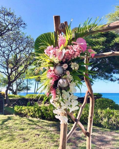 Fresh Hawaiian Wedding Flowers