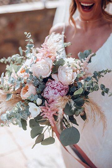 Freshly Picked Blush Wedding Flowers
