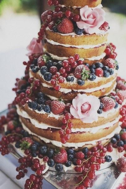Fruit Wedding Cake Ideas