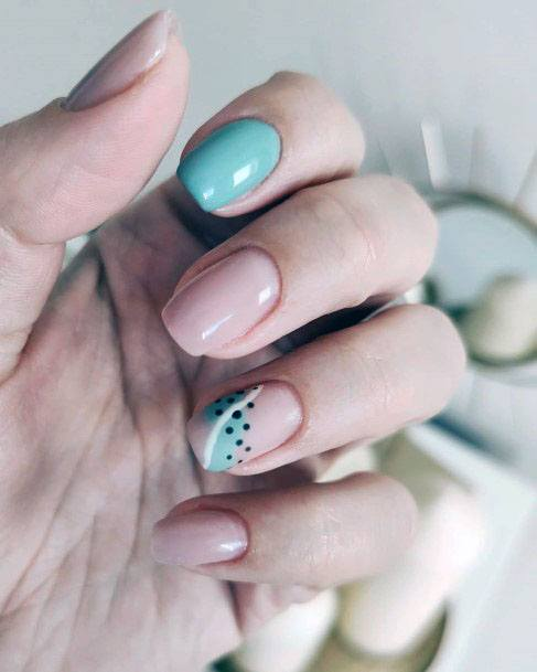 Fruity Mint Nails For Women
