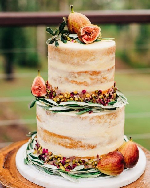 Fruity Wedding Cake Toppers Rustic
