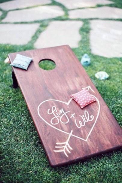 Fun Yard Games Backyard Wedding Ideas