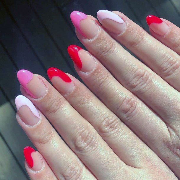 Funky Colorful Nail Tipped Ideas For Women