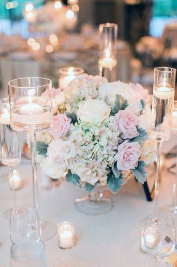 Garden Fresh Blush Wedding Flowers