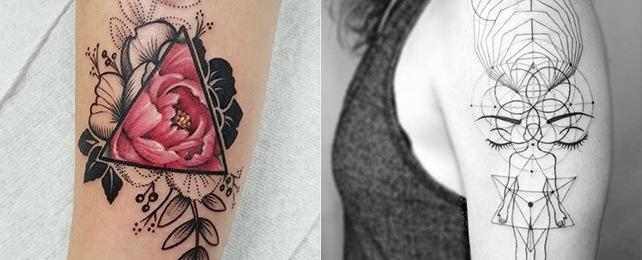 Top 100 Best Geometric Tattoo Designs For Women – Mesmerizing Body Art