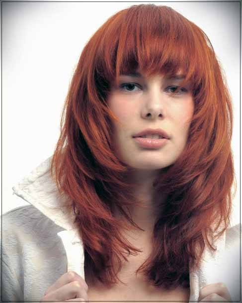 Ginger Toned Hair With Bangs