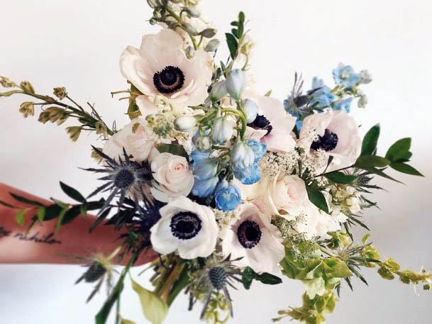 Glorious August Wedding Flowers
