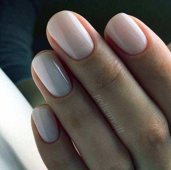 Glossy Natural Nail Ideas For Women