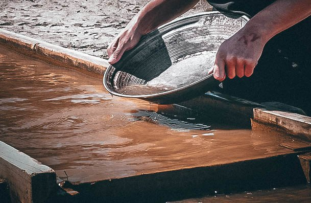 Gold Panning Date Ideas