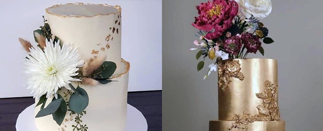 Top 70 Best Gold Wedding Cake Icing – Luxe Golden Designs