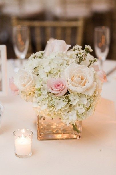 Gold Wedding Centerpiece Ideas