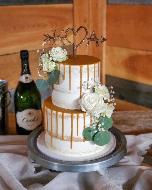 Golden Syrup Country Wedding Cakes