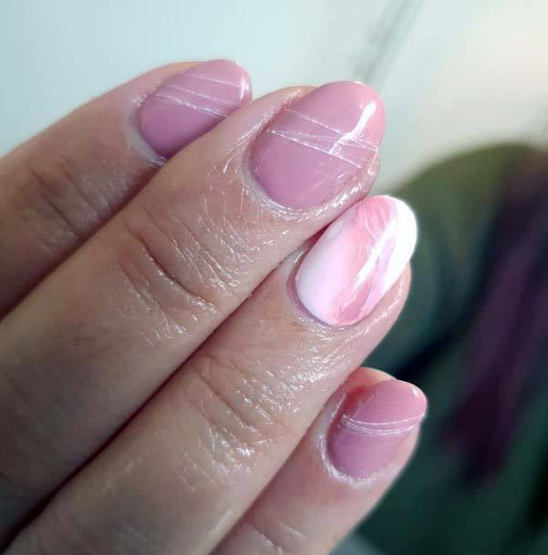 Gorgeous Light Pink Nails