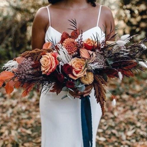 Grand Boho Wedding Flowers Bouquet