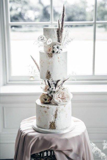Grand Floral Elegant Cakes Womens Wedding Design