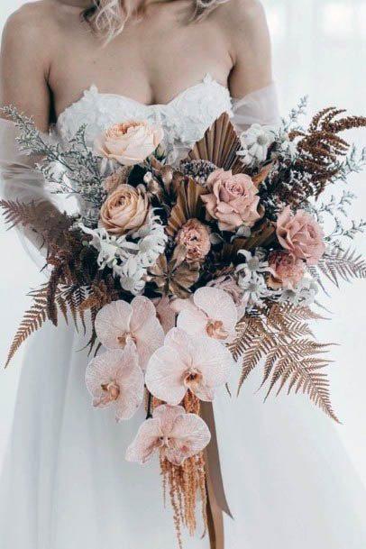 Grand Rustic Wedding Flowers