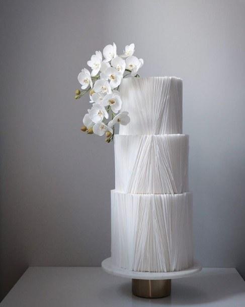 Great White Wedding Cake