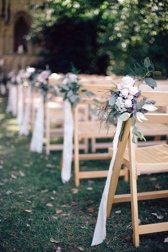 Hand Made Ceremony Aisle Floral Backyard Wedding Ideas