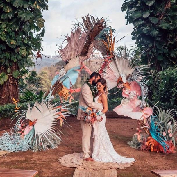 Hawaiian Wedding Flowers Romance